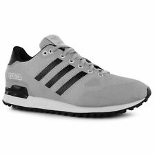 adidas ZX 750 Weave Trainers Mens Onix/Black Athletic Sneakers Shoes