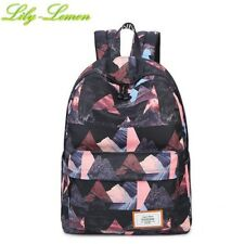 Triangle Primary School Backpacks Girls Mochila Book Bags Casual Women Rucksacks