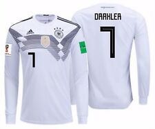 ADIDAS JULIAN DRAXLER GERMANY LONG SLEEVE HOME JERSEY WORLD CUP 2018 PATCH.