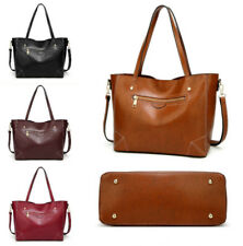 2018 Classic Women Messenger Tote Bag Leather Handbag Shoulder Bags Hobo Satchel