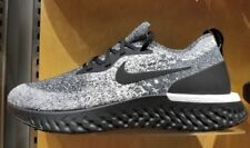 Nike Men's Epic React Flyknit Running Shoes - Cookies and Cream