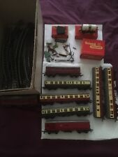 Triang Hornby Model Railways Track, Carriages and Boxes. Job Lot