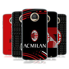 OFFICIAL AC MILAN 2018/19 CREST PATTERNS SOFT GEL CASE FOR MOTOROLA PHONES