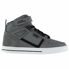 No Fear Elevate Skate Shoes Mens Charcoal Skateboarding Trainers Sneakers