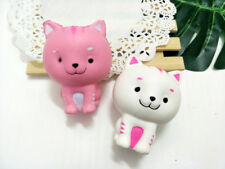 Squishy Kawaii White Cat Cream Scented Slow Rising Squishies Charm&Toys Collect