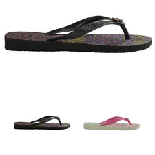 Womens Havaianas Garcia Holiday Toe Post Summer Lightweight Flip Flops US 6-11