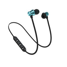 Magnetic Headphone Stereo Bluetooth  Earphone Headset Wireless In-Ear Earbuds