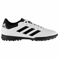 adidas Goletto AG Artificial Grass Trainers Mens White/Red Football Soccer Shoes