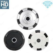 1080P HD Mini 360° Panoramic Wifi IP Camera Wireless Hidden VR Two Way Audio Cam