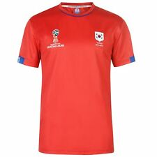 FIFA World Cup 2018 South Korea T-Shirt Mens Red Football Soccer Top Tee