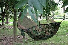 Parachute Fabric Hammock Hanging With Mosquito Net For Travel Outdoor Camping