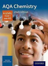 AQA Chemistry A Level Year 1 & AS Student Book, 2nd Ed, Renshaw & Lister    NEW