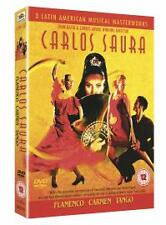 Carlos Saura - Carmen / Flamenco / Tango (DVD, 2005, 3-Disc Set, Box Set)