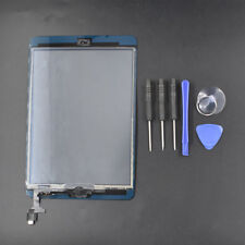 new For iPad Mini 1 2 Touch Screen Glass Digitizer+IC+Home Button FREE