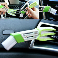 Double Head Car Air Vent Condition Blind Cleaner Keyboard Duster Cleaning Brush