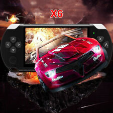 """4.3"""" Portable Video Handheld Game Console Player 1000 Games 32Bit 8GB X6 BuiltIn"""