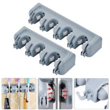 1Pc Mop and Broom Holder Wall Mounted Garden Tools Organizer Hooks Hangers GIFT