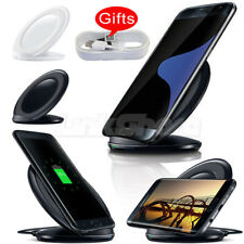 US Charging Qi Wireless Charger Stand Pad For Samsung S9 S8 S7 Edge Note 9 N8 mr
