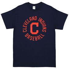 Zubaz MLB Men's Cleveland Indians Circle Logo Cotton T-Shirt