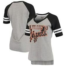 G-III 4Her by Carl Banks San Francisco Giants Women's Gray/Black Goal Line
