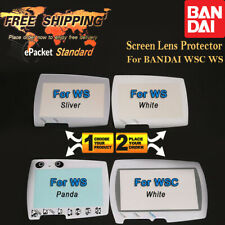 Screen Lens Protector Replacement For Bandai Color Crystal Wonder Swan WSC WS ✅