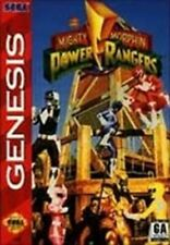Mighty Morphin Power Rangers - Sega Genesis Game Authentic