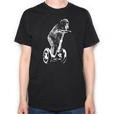 CHIMPANZEE ON A SEGWAY T SHIRT OLD SKOOL HOOLIGANS ORIG