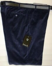 "MENS CLASSIC SMART CASUAL NAVY BLUE CORDS CORDUROY TROUSERS 48"" and 50 "" WAIST"