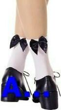 Admcity Ribbon Look Ankle Hi with Bow