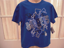 NWT MLB LA Dodgers Reebok Youth Textured Tee - 8-20