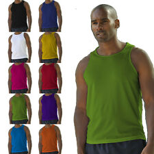 CoolTex Running Vest Gym Athletic Sports Top S M L XL
