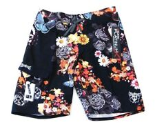 Billabong Platinum Quad Stretch Floral Board Shorts Mens NWT