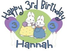 Max and Ruby Personalized Birthday T-shirt