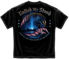 9/11 United We Stand Patriot T-Shirt Never Forget 911