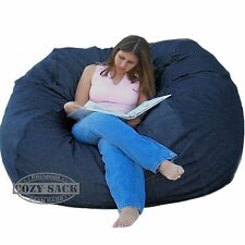 Huge Bean Bag Chair Factory Direct Cozy Sack Store 6' Deluxe Foam Filled