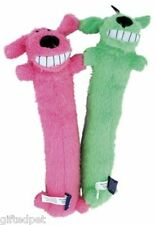 Multipet Loofa Dog Plush Pet Toy with Squeaker