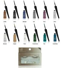 e.l.f. Natural Eyelash Kit Brown w/your choice Liquid Eyeliner ELF NEW Free S&H