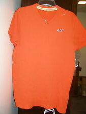 Hollister Men V-neck & Striped Polo Shirt NEW $18-24  M XL sz in description