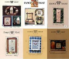 Fanci That  Assorted Designs  Counted Cross-Stitch Pattern