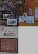DESIGNS BY GLORIA & PAT Counted Cross-Stitch Pattern Book ASSORTED DESIGNS
