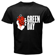 """New GREEN DAY """"American Idiot"""" Punk Rock Band Mens Black T-Shirt Size S to 3XL"""