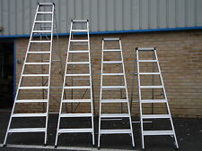 Builders Step Extra Strong Ladder Class 1 Heavy Duty Industrial Aluminium BS2037