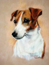 CELEBRATE DOGS with blank NOTE CARDS signed by artist CAN BE FRAMED!