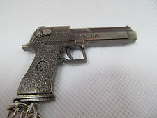 SOLID METAL REPLICA RIFLE MACHINE HAND GUN PISTOL DESERT EAGLE USA ARMY UK SELL
