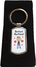 Boyfriend | Girlfriend | Wife | Husband Exclusive Metal Keyring Valentines Gift