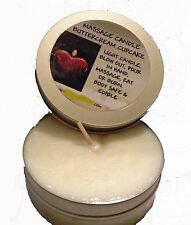 Edible Massage Candle 4 oz You Choose Flavor