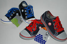 NWT CROCS HOVER SNEAK lace up KIDS canvas shoe BLACK NAVY GREY WHT 9 10 11 12 13
