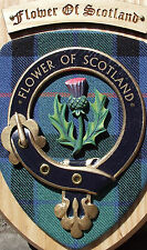 SCOT CRESTS: Scottish Gifts Clan Crested Wall Plaques Palmer to Turnbull