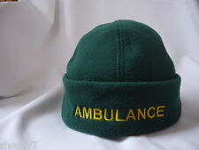 Ambulance Paramedic Police Security Beanie Woolly Hat, Personalised