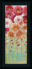 Pink Daisies Spring I Danhui Nai Bright Daisy Floral Framed Print Wall Décor